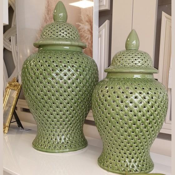 Potes Verdes em Cerâmica Pack